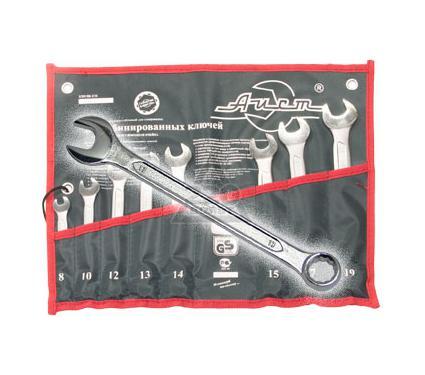 Набор комбинированных гаечных ключей, 8 шт. AIST 0011408BX-M