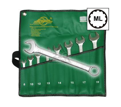 Набор комбинированных гаечных ключей, 8 шт. AIST 0011308A