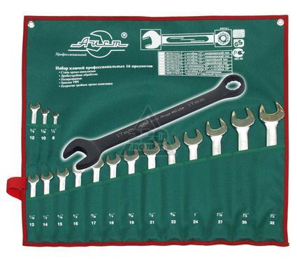 Набор комбинированных гаечных ключей в чехле, 16 шт. AIST 0011116-1