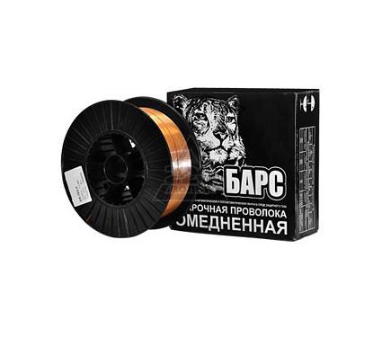 Проволока сварочная БАРС ER-70S-6 ф 1.0мм 15кг