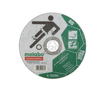 Круг отрезной METABO Inox 125 X 1 X 22