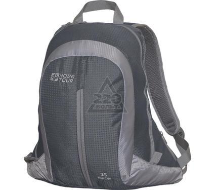 Рюкзак NOVA TOUR Нимбл 15 серый/светло-серый