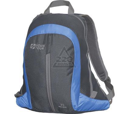 Рюкзак NOVA TOUR Нимбл 15 серый/синий