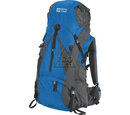 Рюкзак NOVA TOUR Вектор 50 серый/синий