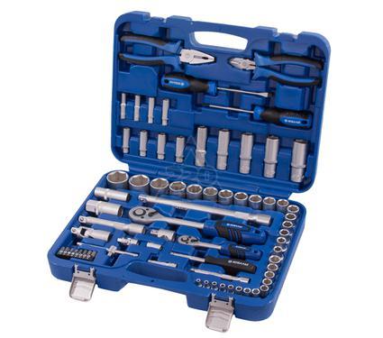 Набор инструментов в пластиковом кейсе, 69 предметов КОБАЛЬТ 010103-69