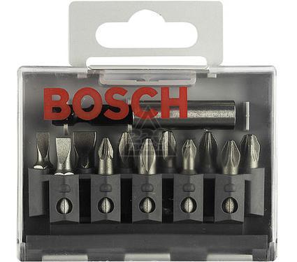 Набор бит BOSCH 2 607 001 923  EXTRA-HART Ph/Pz/LS - 11шт.+ держ.