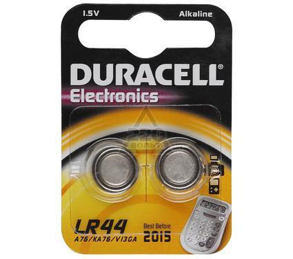Батарейка DURACELL NEW LR44-2BL (20/200)