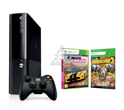 Игровая приставка MICROSOFT Xbox 360 E 250GB Console+ Borderlands 2+ Forza Horizon + Xbox LIVE 1Mo