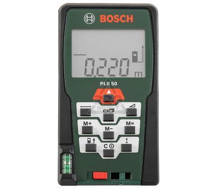 Дальномер лазерный BOSCH PLR 50 + USB 4 Гб