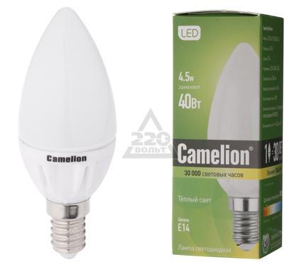 Лампа светодиодная CAMELION LED4-C35/830/Е14