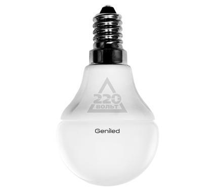 Лампа светодиодная GENILED Е14 G45 5W 4200K