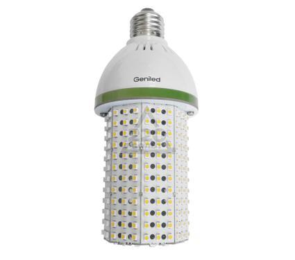 Лампа светодиодная GENILED СДЛ-КС 20W Е27 с переходником на Е40 4700K