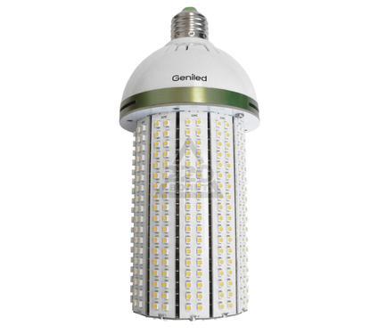 Лампа светодиодная GENILED СДЛ-КС 30W Е27 с переходником на Е40 4700K