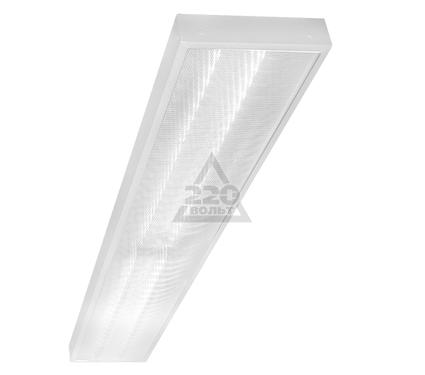 Светильник настенно-потолочный GENILED Офис Люкс 2х36 Микропризма 4200K 52W с рег. до 34W