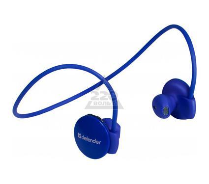 Мобильная гарнитура DEFENDER FreeMotion B611 синий