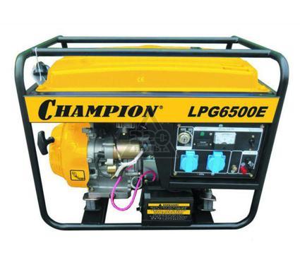 Бензиновый генератор CHAMPION LPG6500E+газ
