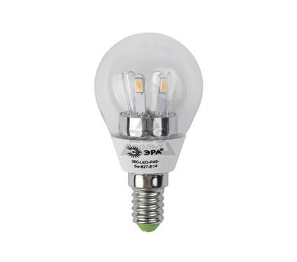Лампа светодиодная ЭРА 360-LED P45-5w-827-E14