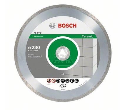 Круг алмазный BOSCH Standard for Ceramic  115 Х 22 корона (сплошной)