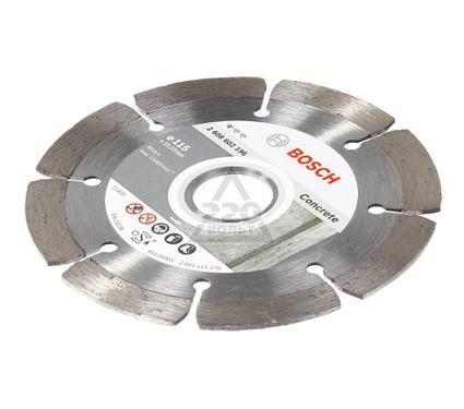 Круг алмазный BOSCH Standard for Concrete  115 Х 22,2 сегмент