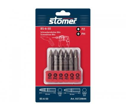 Набор бит STOMER BS-6-50 6пр
