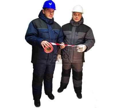 Костюм рабочий мужской зимний БАЛТИЙСКИЙ РЕСУРС ''Драйв'' серый/черный