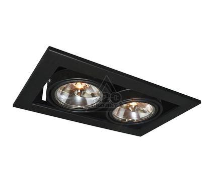 Светильник встраиваемый ARTE LAMP A5930PL-2BK