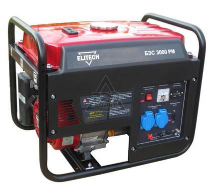 Бензиновый генератор ELITECH БЭС 3000 РM