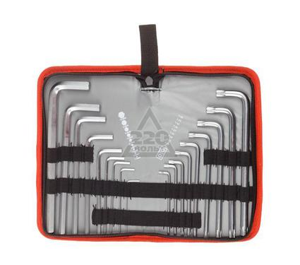 Набор шестигранных ключей ЗУБР 27463-H18