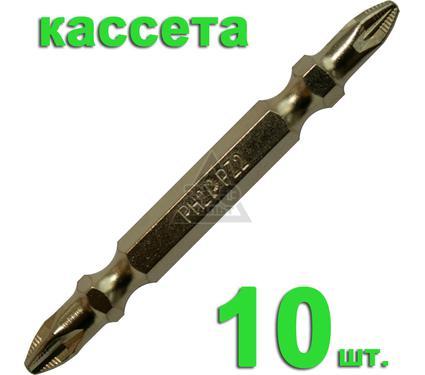 Бита ПРАКТИКА 036-995 Ph2-Pz2 65мм, TiN, 10шт.