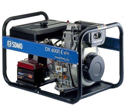 Дизельный генератор SDMO DX 6000 E