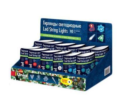 Светодиодная елочная гирлянда UNIEL ULD-S0100-010/SGB