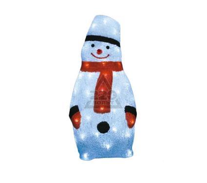Светящаяся новогодняя фигура UNIEL ULD-M2348-080/STA WHITE IP20 Снеговик 1
