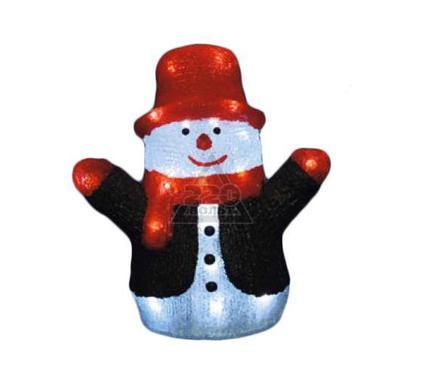 Светящаяся новогодняя фигура UNIEL ULD-M2730-024/STA WHITE IP20 Снеговик
