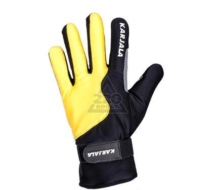 Перчатки для беговых лыж KARJALA Thinsulate/замша желто-черные