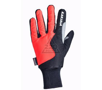 Перчатки для беговых лыж KARJALA Thinsulate/замша красно-черные
