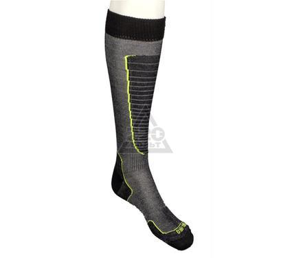 Носки горнолыжные MICO Basic ski sock цвет: 604 nero giallo fluo