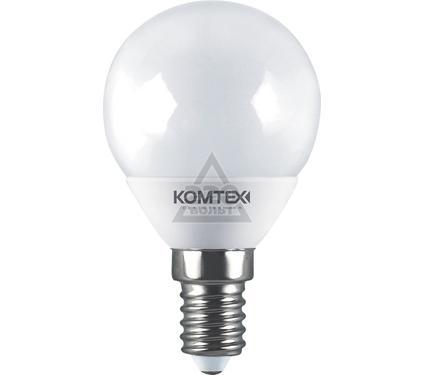 Лампа светодиодная КОМТЕХ СДЛ-Ш45-5-220-827-300-Е14