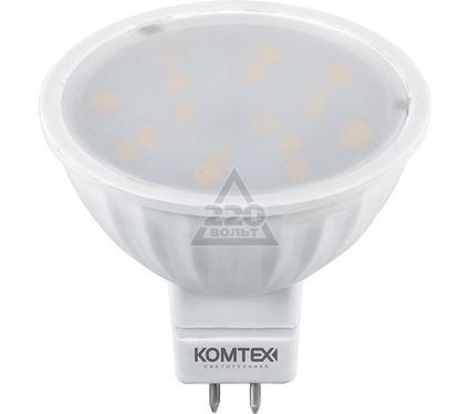 Лампа светодиодная КОМТЕХ СДЛп-MR16-3.5-220-830-120-GU5.3