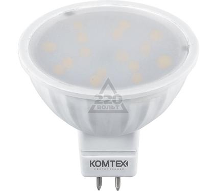 Лампа светодиодная КОМТЕХ СДЛ-MR16-6-220-840-120-GU5.3