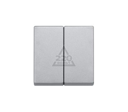 Клавиша PEHA Nova Brillance  2-ая для 600-ой серии алюминий