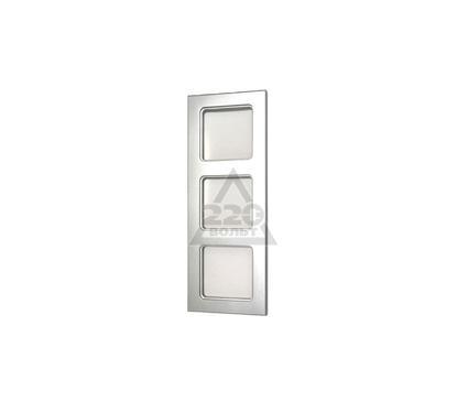 Рамка PEHA Nova  3-ая алюминий