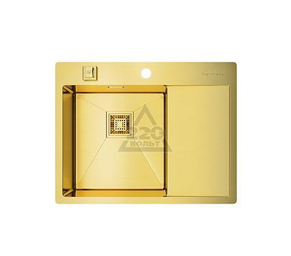 Мойка кухонная OMOIKIRI Akisame 65-LG-L - Светлое золото
