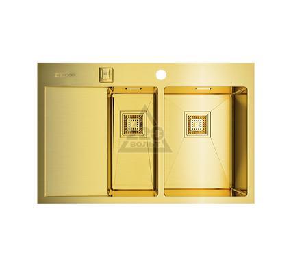 Мойка кухонная OMOIKIRI Akisame 78-2-LG-R - Светлое золото