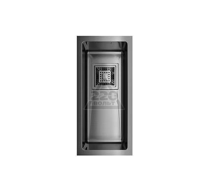 Мойка кухонная OMOIKIRI Akisame 20-U-GM - Вороненая сталь