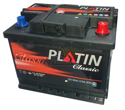 Аккумулятор PLATIN Classic 190а/ч(L+),1250А,евро