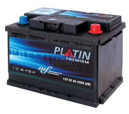 Аккумулятор PLATIN Premium 42а/ч(R+),370А,азия,евро