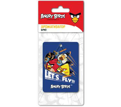 Ароматизатор ANGRY BIRDS LET S FLY