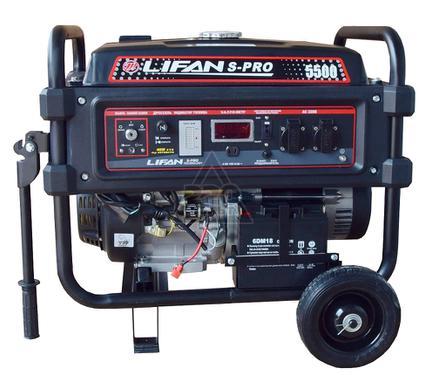 Бензиновый генератор LIFAN S-Pro 5500
