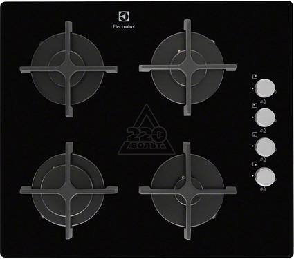 Встраиваемая газовая варочная панель ELECTROLUX EGT56142NK