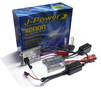 Комплект ксенона JPOWER Slim ULTRA-MaxLum LL H3 4300K